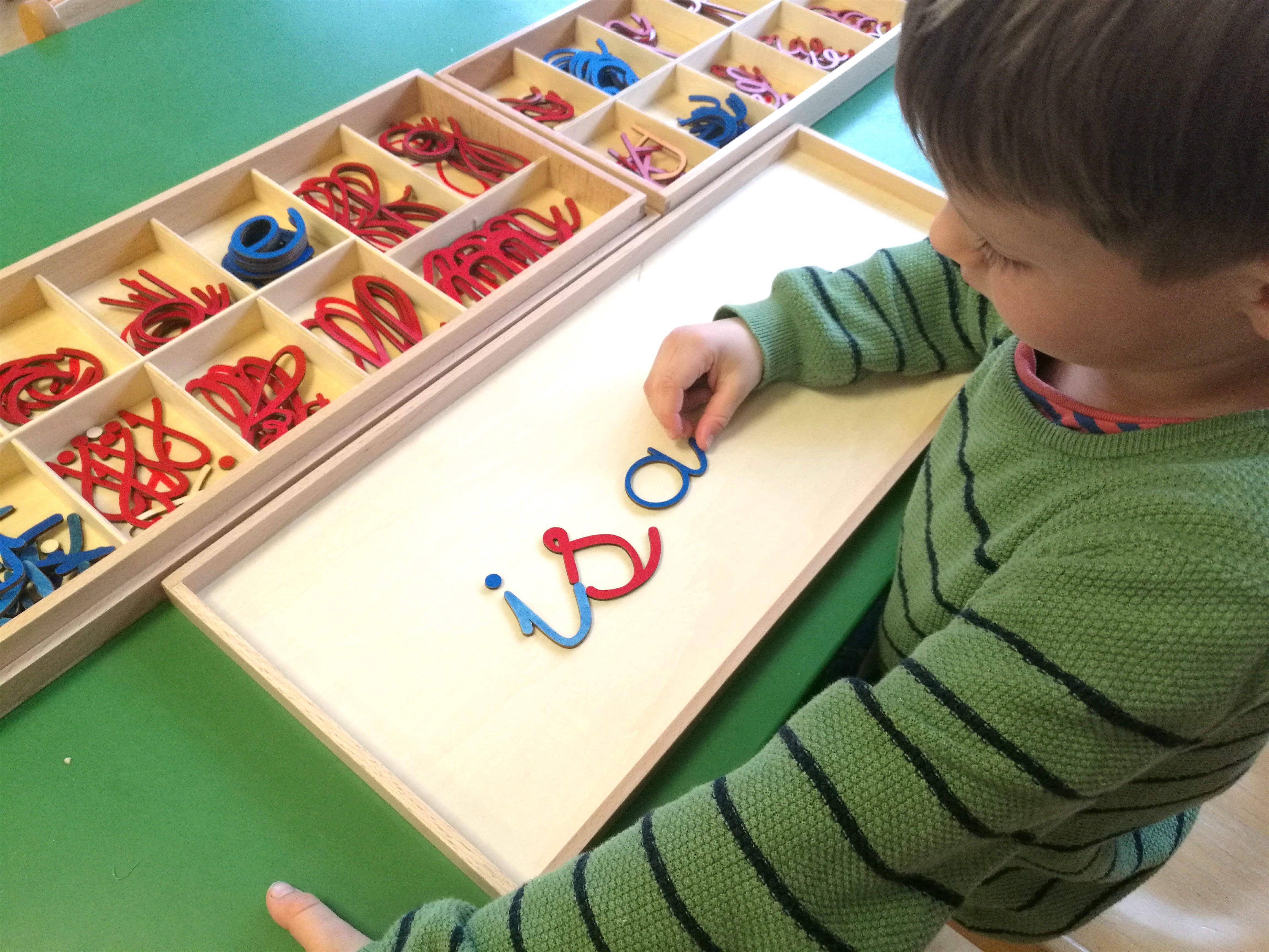 langage alphabet mobile
