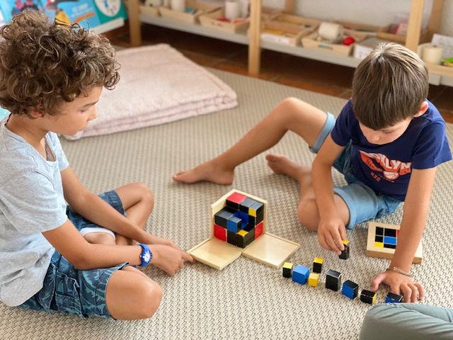 Ateliers Montessori 3/9 ans (vacances)