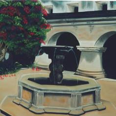 Fuente en el convento