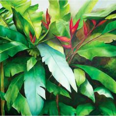 Follaje en la selva