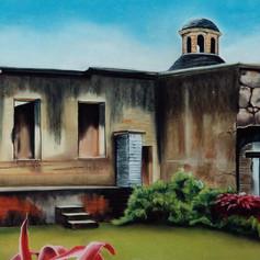 Jerdín del convento