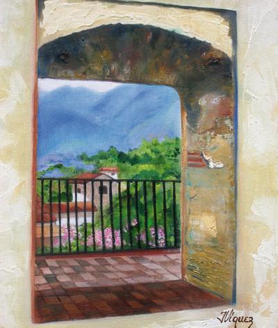 Vista de Antigua