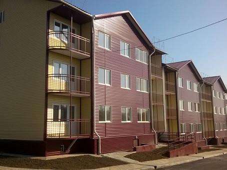 Два 27-квартирных жилых дома в пос. Октябрьский Хабаровского края