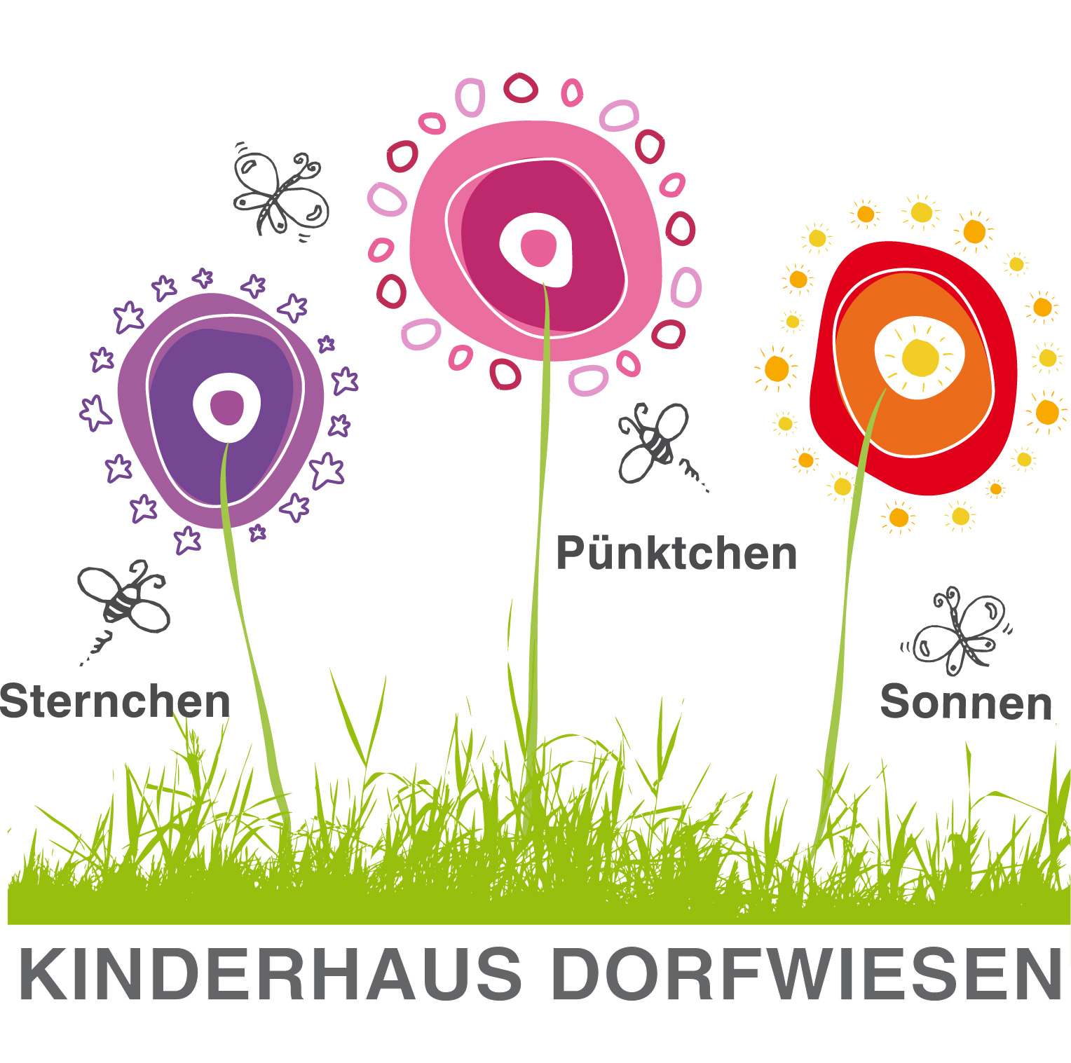 Logoerstellung Kinderhaus Dorfwiesen