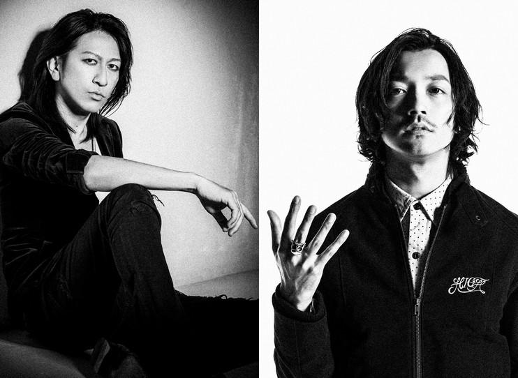 TAKURO(GLAY) Nobuaki Kaneko(RIZE)