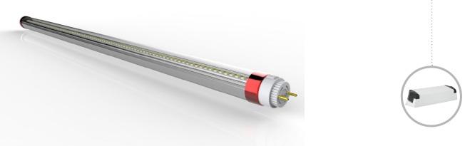 LED Rohr DALI Steuerung