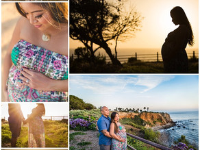 Cliff Side Maternity Session | Palos Verde, Ca.