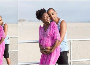 Beach Maternity   Venice Beach, Ca. Photographer