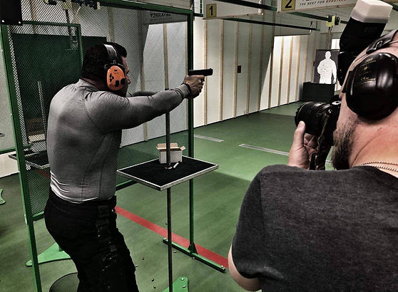 Close Protection Firearms Training