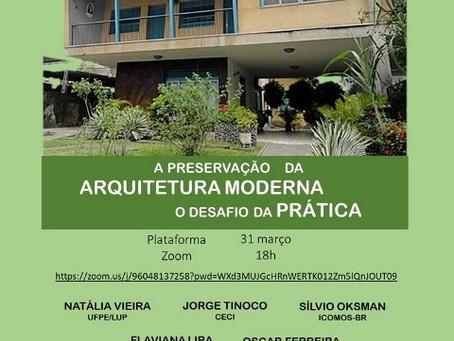 A preservação da arquitetura moderna: o desafio da prática