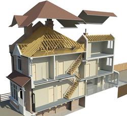 3D_Revit_model_of_London_Residential_House_2