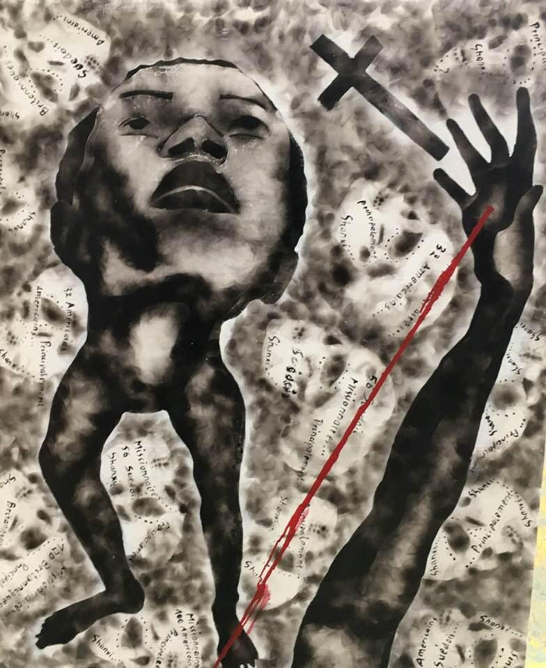 Geraldine Tobe - Peinture