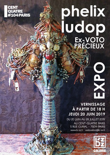 PHÉLIX LUDOP EN JUILLET AU CENTQUATRE-PARIS