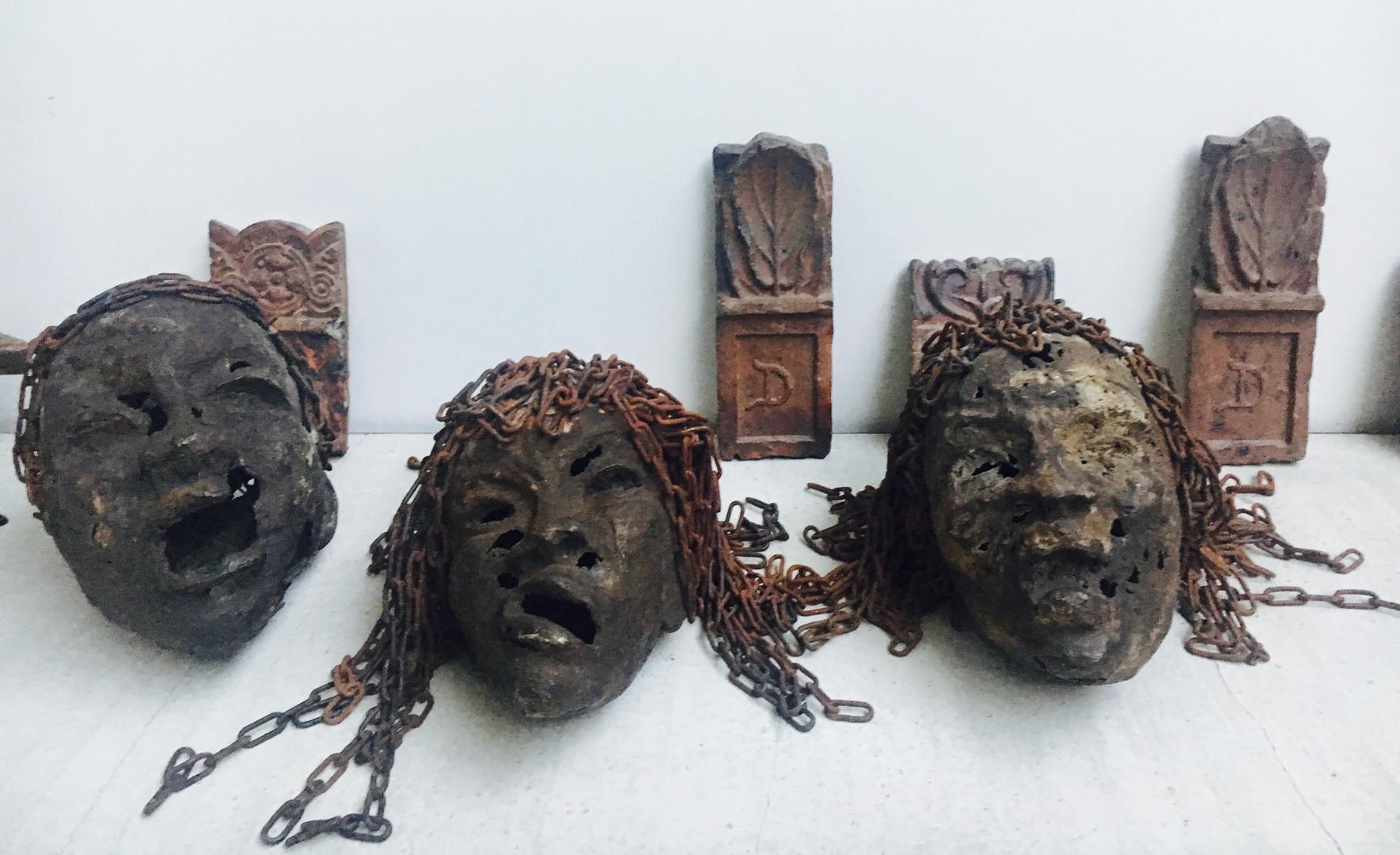 Freddy Tsimba - sculpture