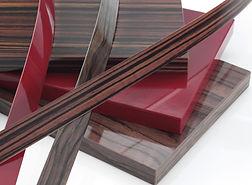 Пластиковые фасады в кромке ПВХ, пластик в глянцевой кромке