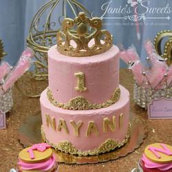 Princess themed 1st birthday party 👸👸👸 #cake #cakeideas #marriage #baby #pink #girl #itsmybirthda