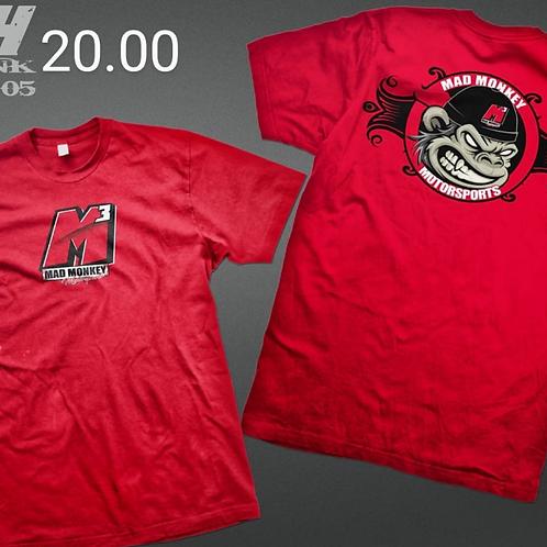 M3-Mad Monkey Motorsports T Shirt