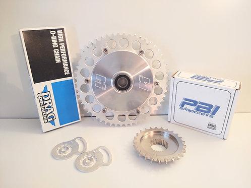 Complete kit M3- Chain Conversion 2009-Present FLH M8/TC