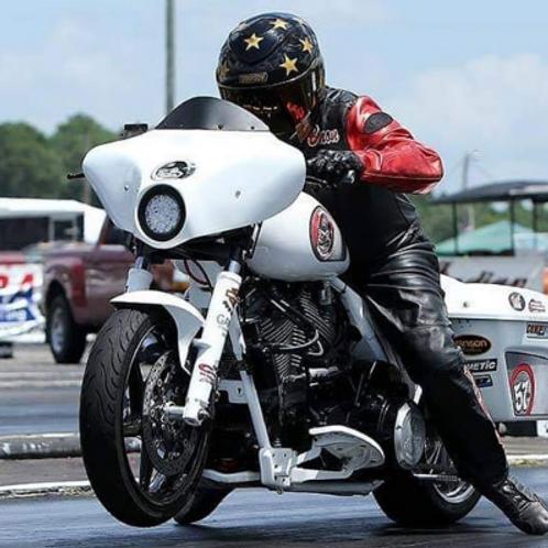 09-21 Bagger Drag Race Isolators Mad Monkey Motorsports