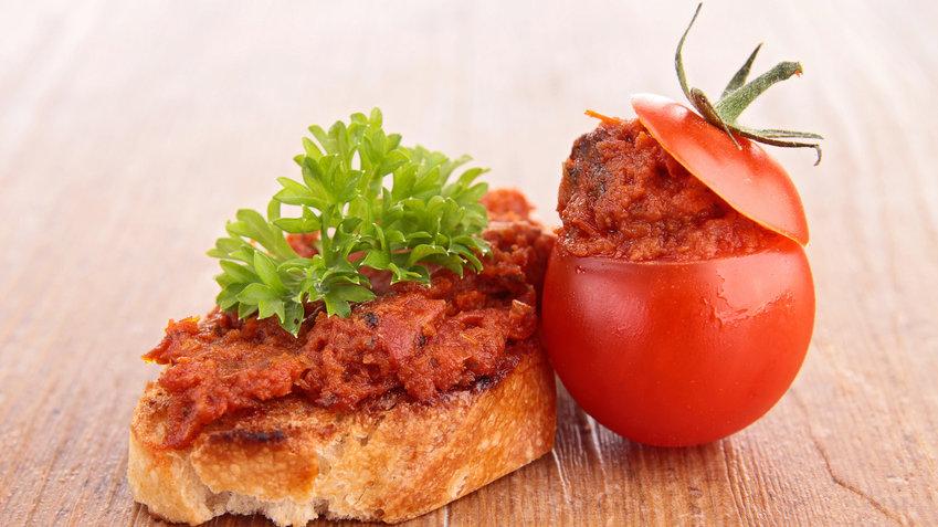 Délice de tomate séchée au fromage de chèvre