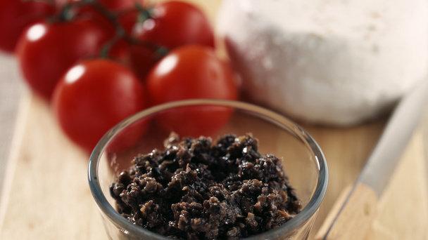 Délice d'olive noire au fromage de chèvre