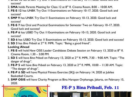 Morning Notes, Feb.12, 2020