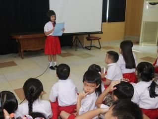 Apresiasi Siswa-siswa SD Jubilee kepada Guru-guru