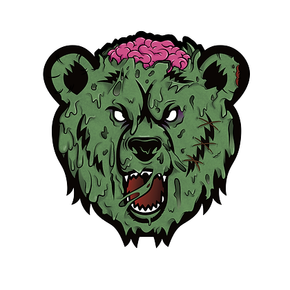 Zombie Bear Mood Mat (LIMITED)