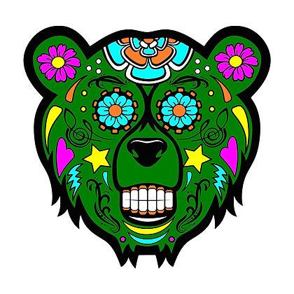 Bear Candy Green Mood Mat