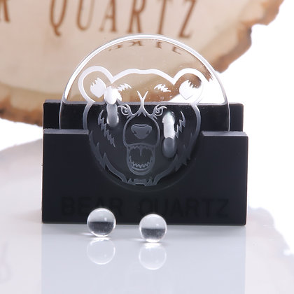 Bear Quartz Spinner Disk Set