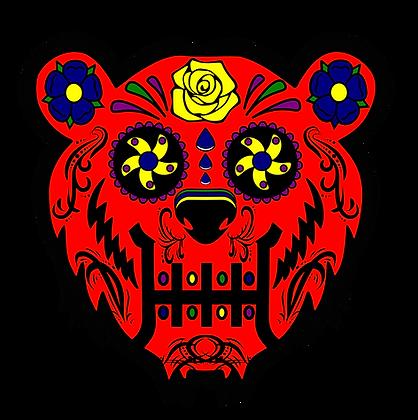 Bear Candy Red Mood Mat