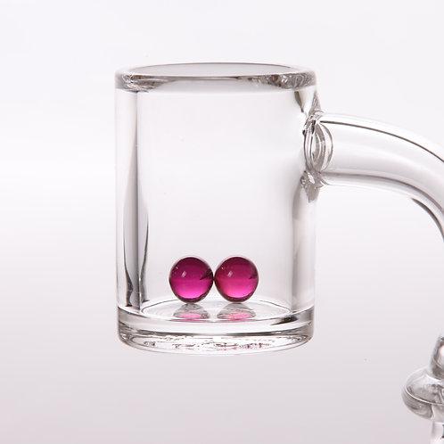 Bear Quartz Ruby Pearls