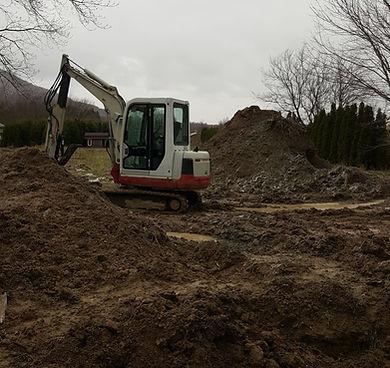 Excavation Takeuchi Hortiloc