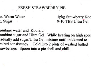Strawberry Pie - Family Recipe