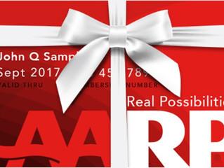 Free 1 Year AARP Membership!