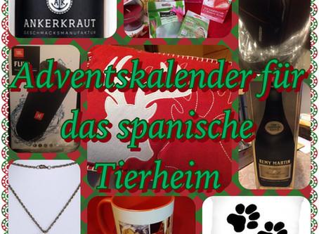 Weihnachtsaktion für das Tierheim in Camarles/Spanien