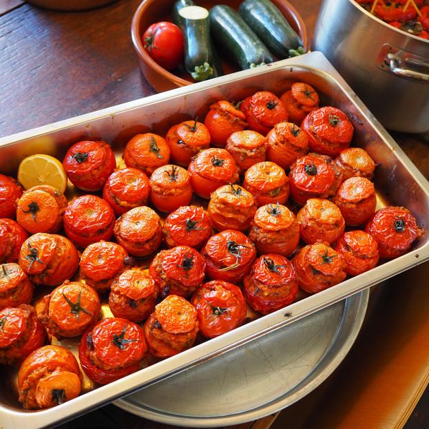 Tomatoes with Trahana