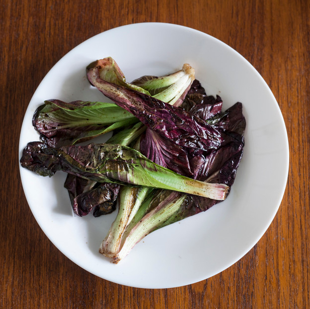 Radicchio with anchovies and balsamic