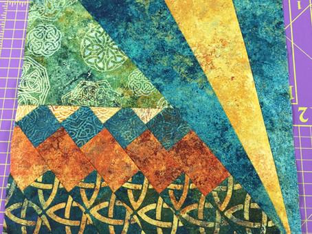Seminole Sunrise Quilt Block Pattern