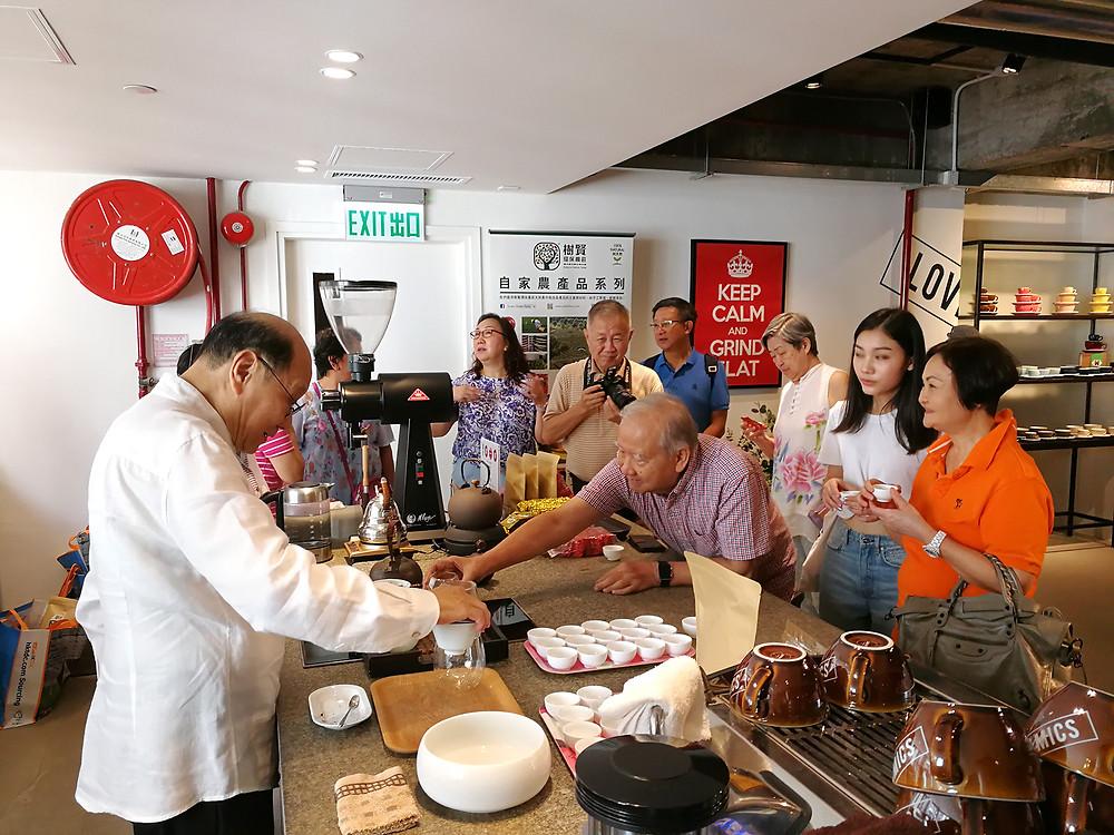 中國茶藝示範