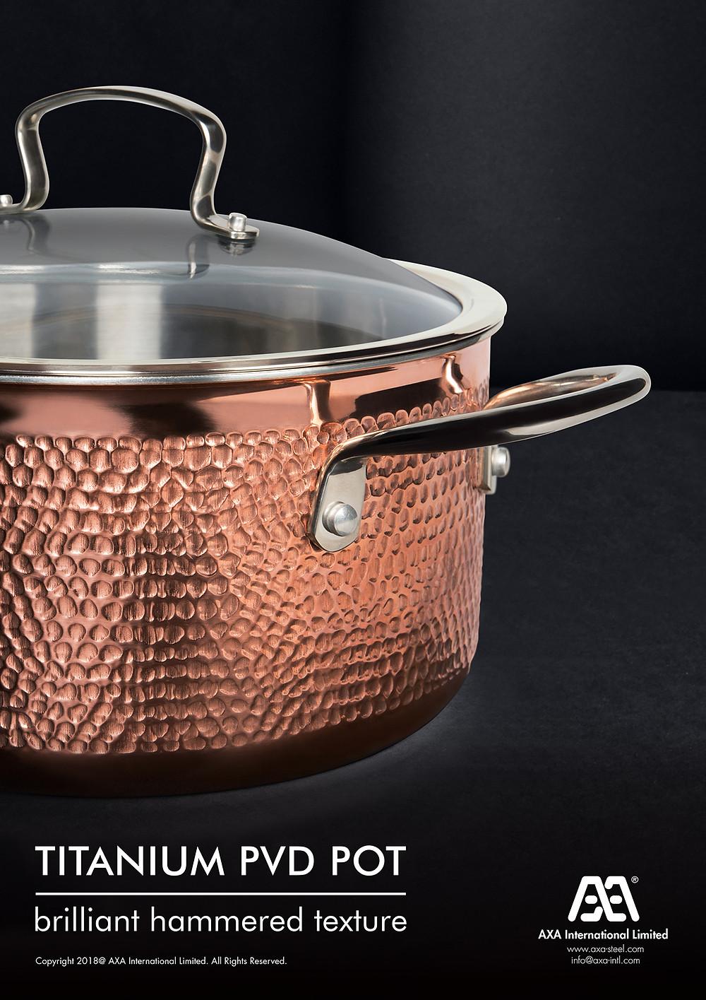 Titanium PVD Pot