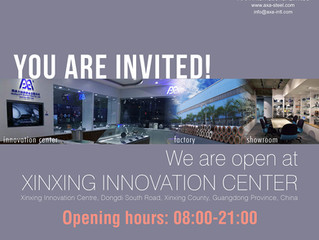October 2016 Newsletter - We are open at Xinxing Innovation Center