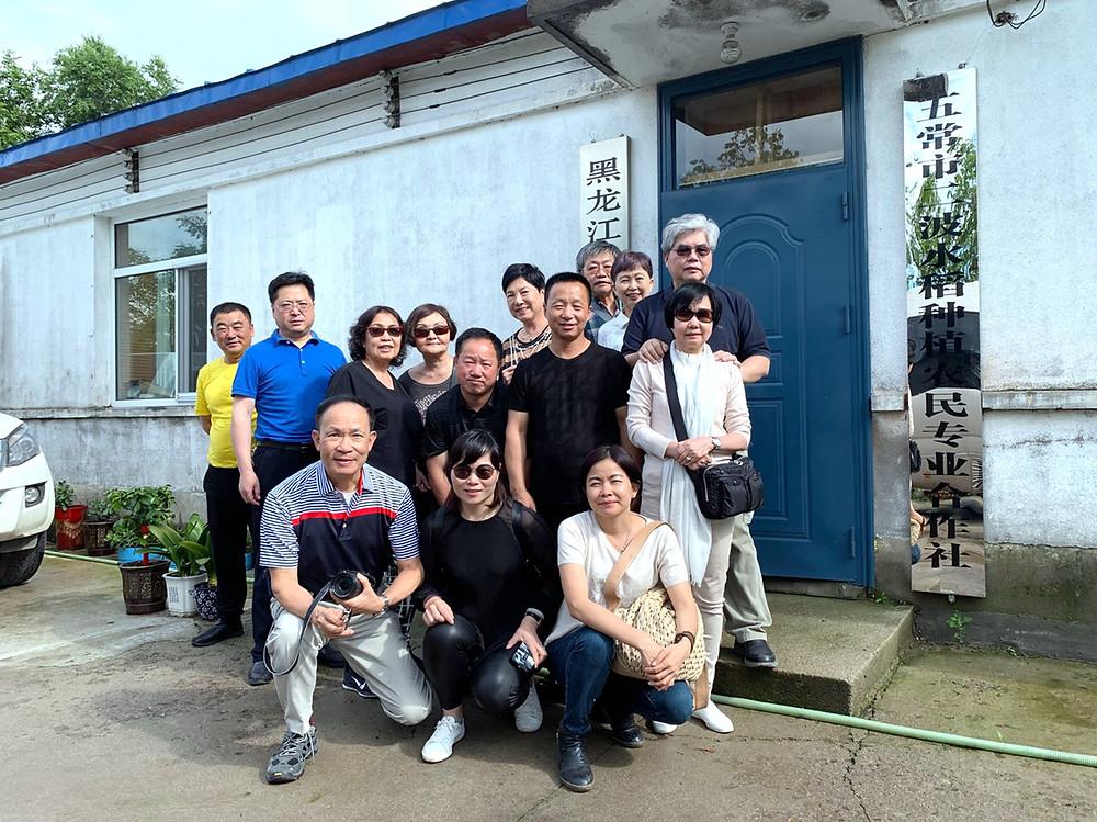 訪問二坡水稻專業合作社,聆聽農民的心聲。