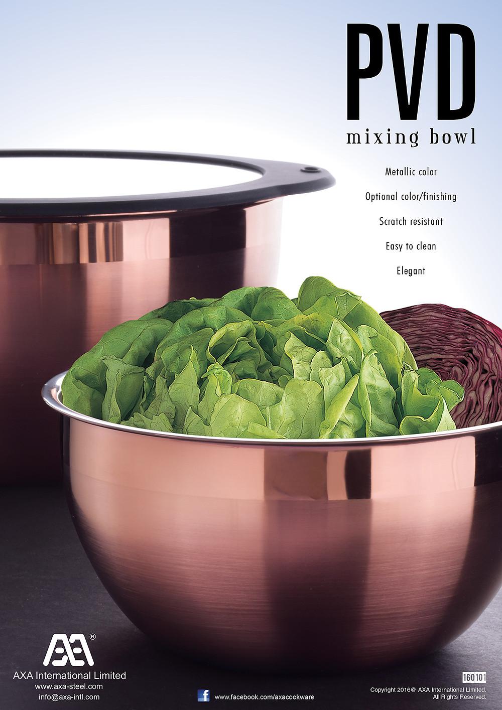 PVD Mixing bowl
