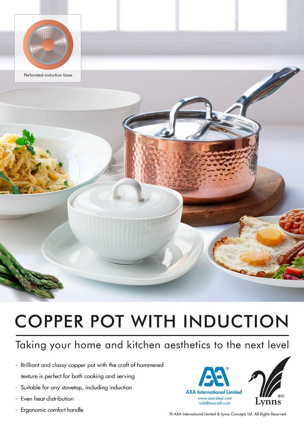 cook at home - mini aluminum cookware set