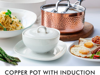 COPPER POT WITH INDUCTION - Taking your home and kitchen aesthetics to the next level