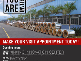 Factory Tours Invitation