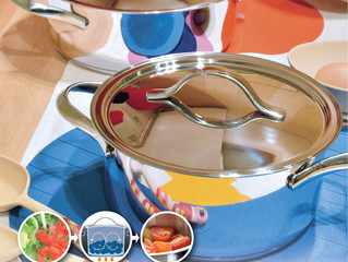 January 2015 Newsletter - Waterless cooking system