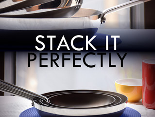 July 2015 Newsletter - Stackable frypan