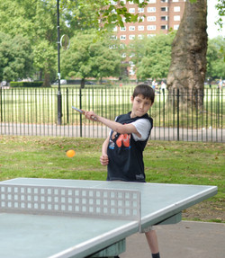table tennis opening competition